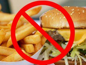 fast food avoid