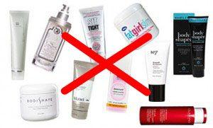 cellulite creams is a scam